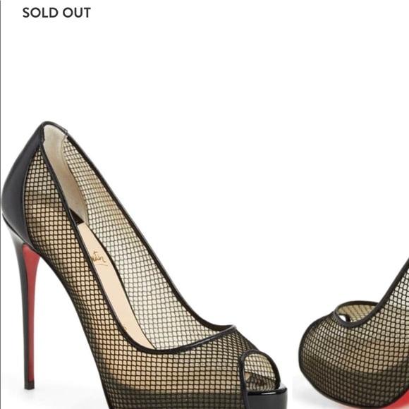more photos b9143 8baf1 Very Rete Louboutin size (7) 37 black